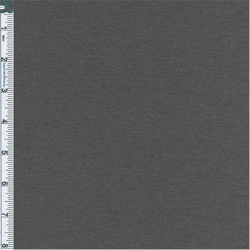 Cinder Grey Jersey Knit, Fabric By the Yard