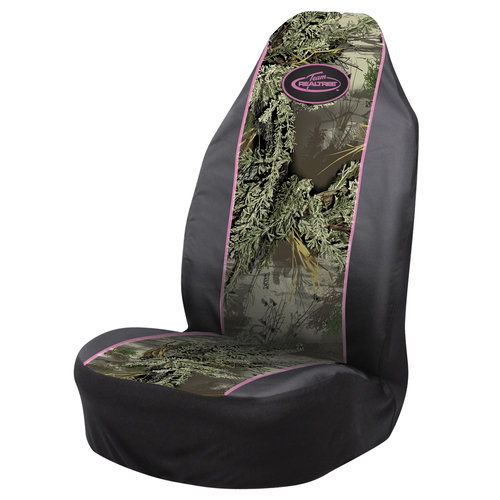 Team Realtree Pink Bucket Seat Cover