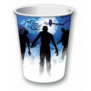 ZOMBIE PARTY DECOR-CUPS 9OZ 12 PACK](Zombies Party Supplies)