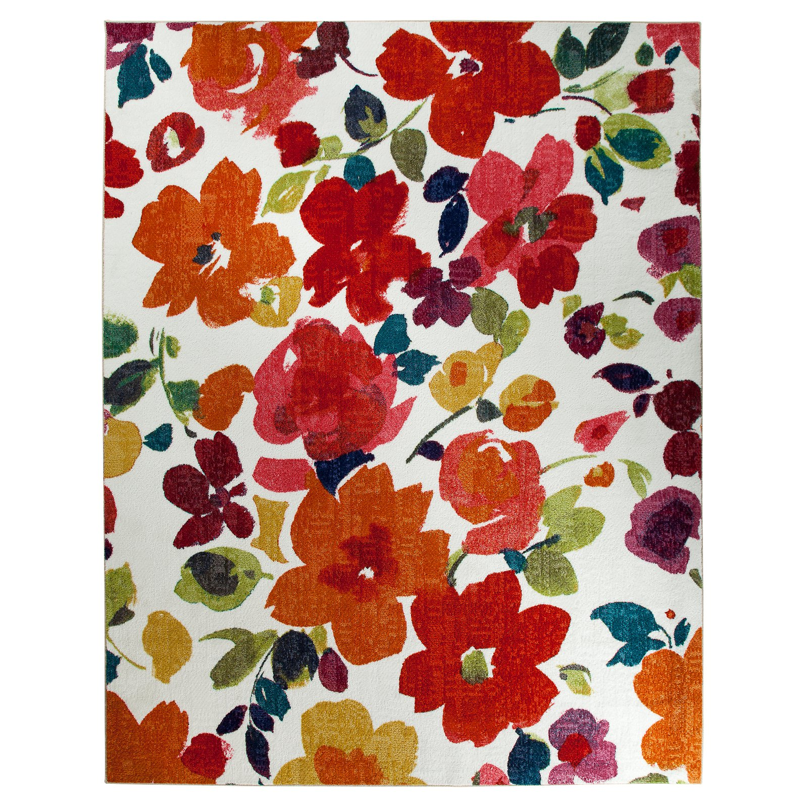 Mohawk Bright Floral Toss Multi Rug