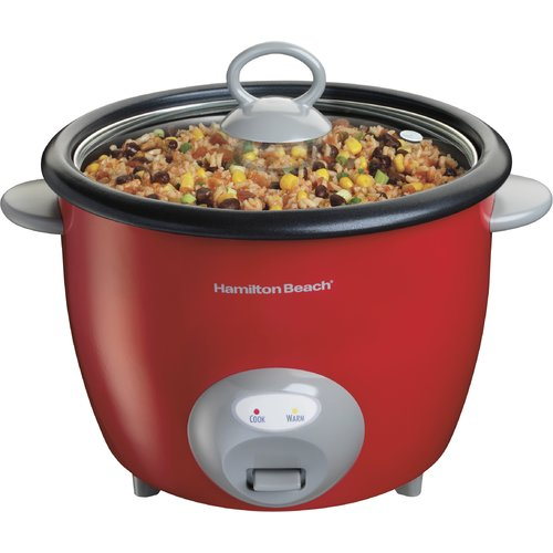 Hamilton Beach 20-Cup Rice Cooker and Food Steamer
