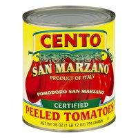 (2 Pack) Cento San Marzano Peeled Tomatoes, 28 Oz