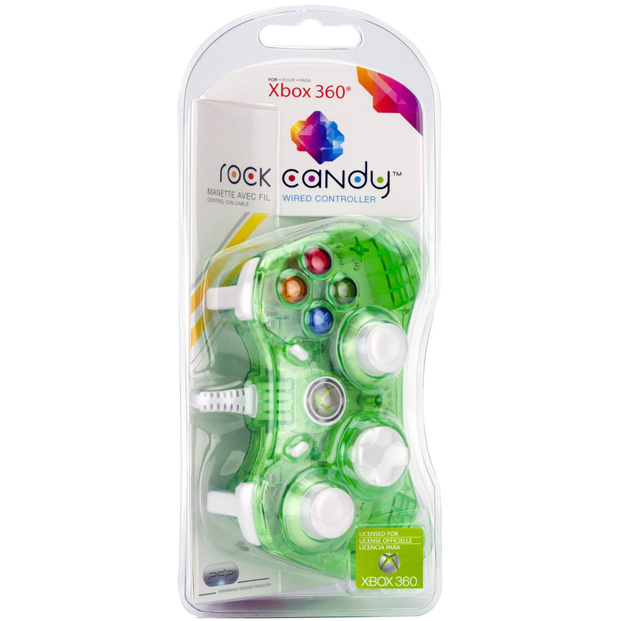 PDP Rock Candy Controller, Green (Xbox 360)