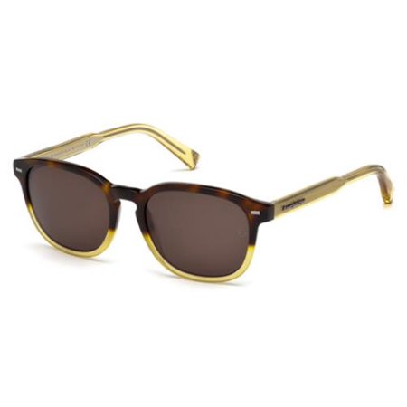 ERMENEGILDO ZEGNA Sunglasses EZ0005 56J Havana 52MM](Zinna Glasses)