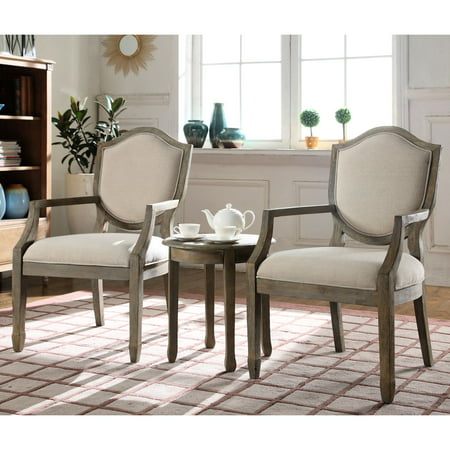 Best master furniture 39 s vrabe 3 piece traditional living - 3 piece table set for living room ...