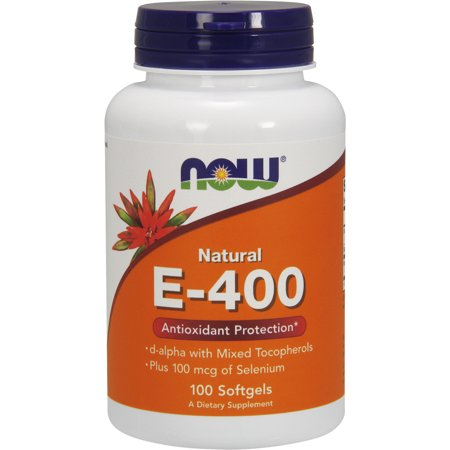 Vitamin E-400 IU D-Alpha Tocopheryl Acetate 100 Softgels ()