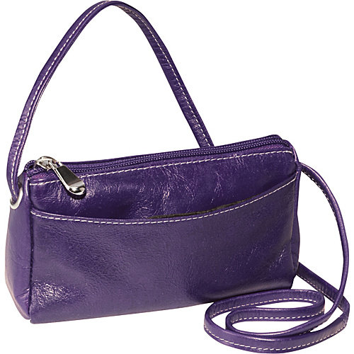 David King & Co. Florentine Top Zip Mini Bag