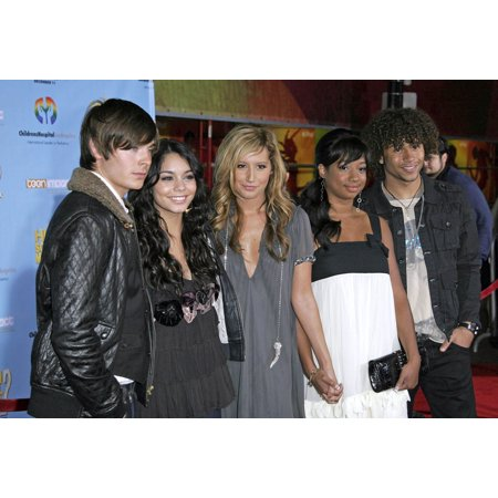 Zac Efron Vanessa Anne Hudgens Ashley Tisdale Monique Coleman Corbin Bleu At Arrivals For Dvd Premiere Of High School Musical 2 Benefitting Los Angeles ChildrenS Hospital Teen Impact Program El Capita (Ashley Tisdale Halloween)