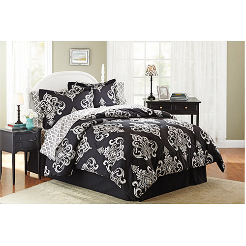 Mainstays Coordinated Bedding Set, Traditional Medallion