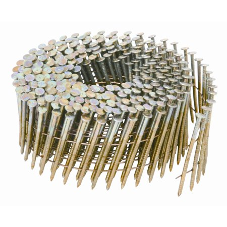 "Hitachi 13333 2"" x .092"" Smooth Shank Electro Galvanized Siding Nails"