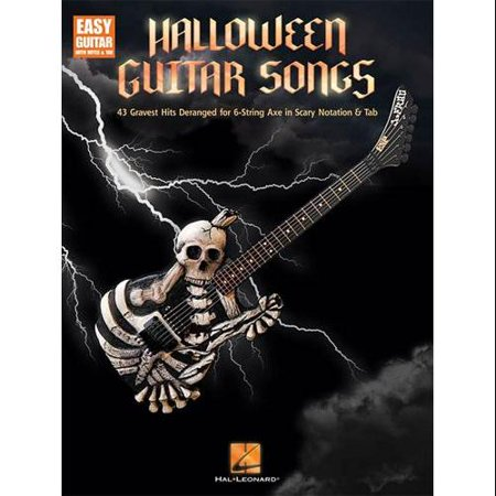 Hal Leonard Halloween Guitar Songs-Easy Guitar Tab