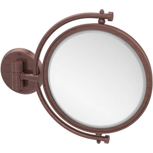 """8"""" Wall-Mounted Make-Up Mirror, 2x Magnification (Build to Order)"""
