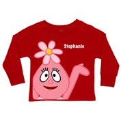 Personalized Yo Gabba Gabba! Foofa Red Toddler Girls' Long-Sleeve Tee