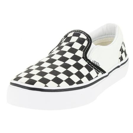 1ef720bcf42c VANS - vans kids classic slip-on (checkerboard) skate shoe - Walmart.com