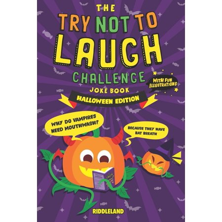 The Try Not to Laugh Challenge Joke Book - Halloween - Trick or Treat Edition (Paperback)