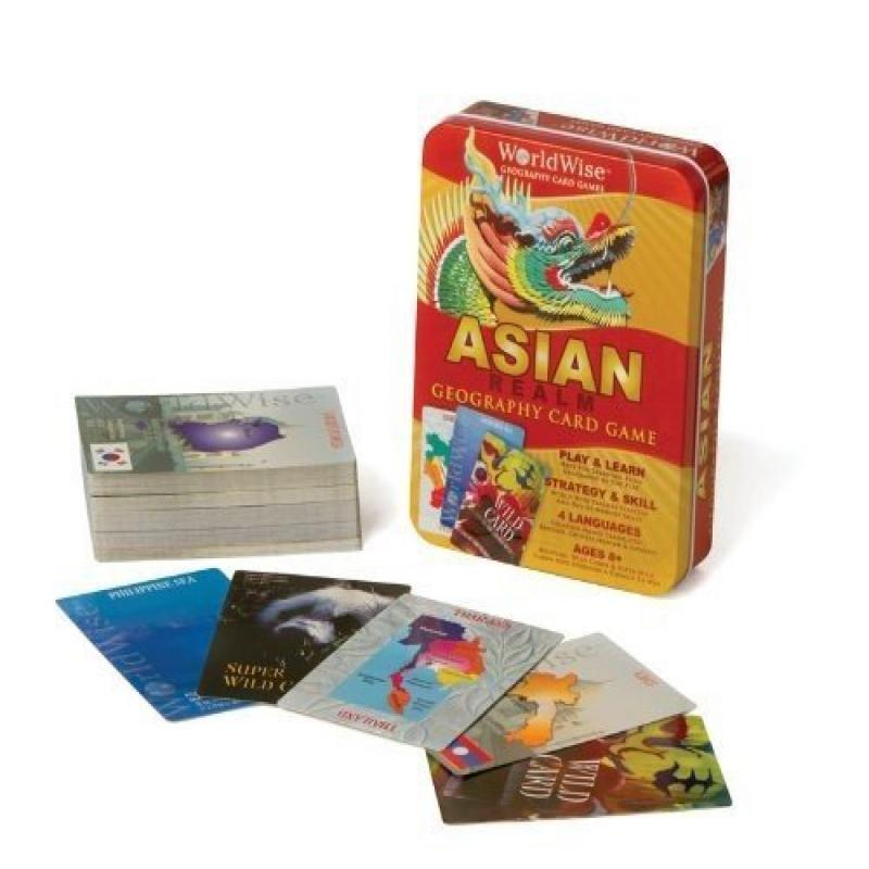 World Wise Geography Card Game by