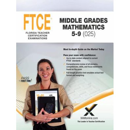 2017 FTCE Middle Grades Math 5-9 (025)