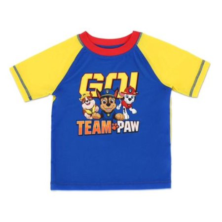 PAW Patrol Paw Patrol Rashguard Swim Top (Toddler Boys)