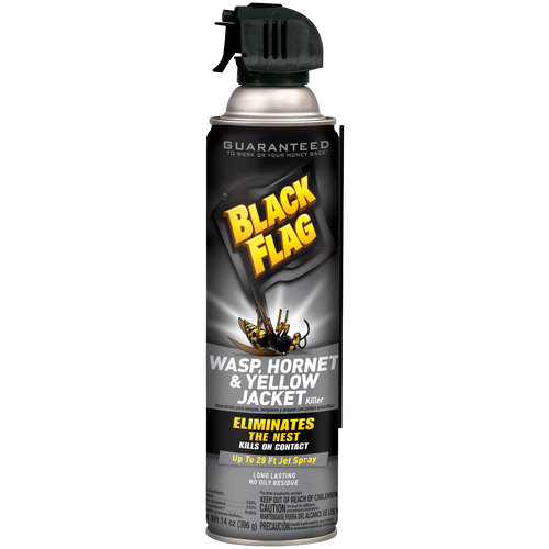 Black Flag Wasp, Hornet & Yellow Jacket Killer Insecticide, 14 oz