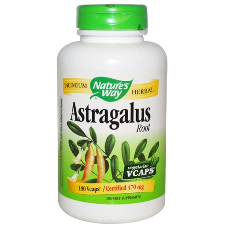 Nature's Way, Astragalus Root, 470 mg, 180 Veggie Caps(pack of 3)