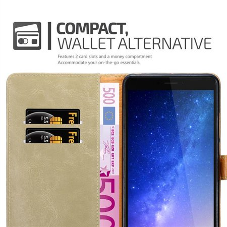 Cadorabo Case for Xiaomi Mi Max 2 cover - with Magnetic Closure, Stand Function and Card Slot - image 5 of 5