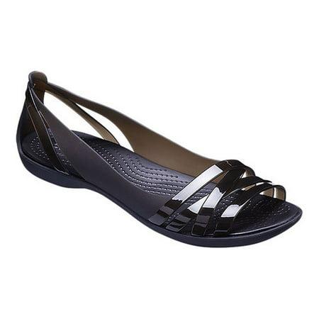 df5b5774f0a87 Crocs - Crocs Women s Isabella Huarache 2 Flat Sandals - Walmart.com