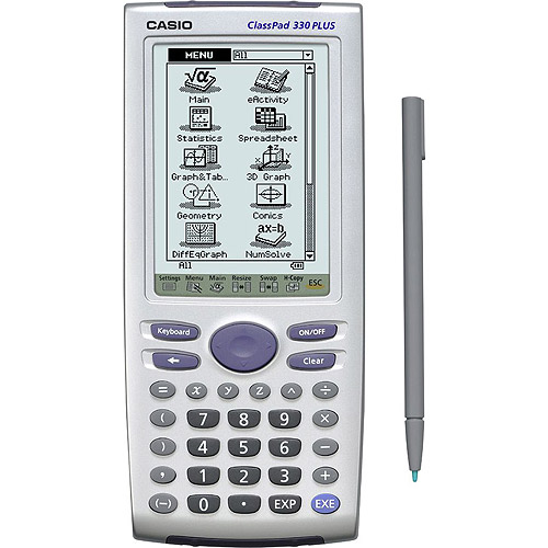 Casio ClassPad 330 PLUS Graphing Calculator with Pen Touch Operation