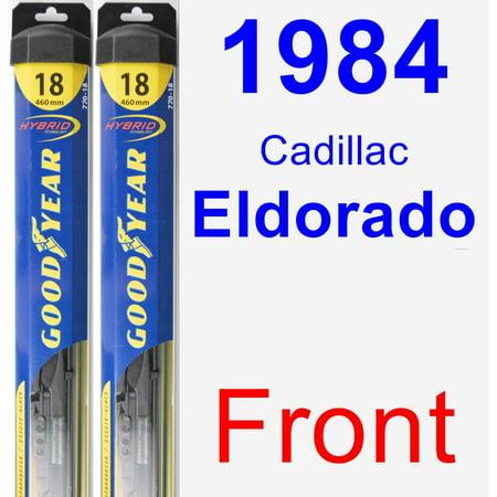 - 1984 Cadillac Eldorado Wiper Blade Set/Kit (Front) (2 Blades) - Hybrid