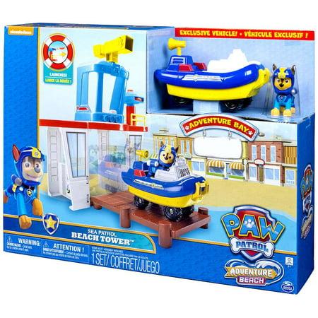 Paw Patrol Adventure Beach Sea Patrol Beach Tower Playset