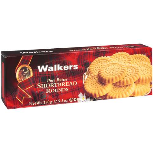 Walkers Pure Butter Shortbread Rounds, 5.3 oz
