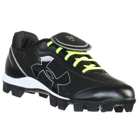 UNDER ARMOUR GLYDE RM CC BLACK/WHITE WOMENS SOFTBALL SHOES US 6.5 M EURO 37.5 (Glyde St Softball Cleats)