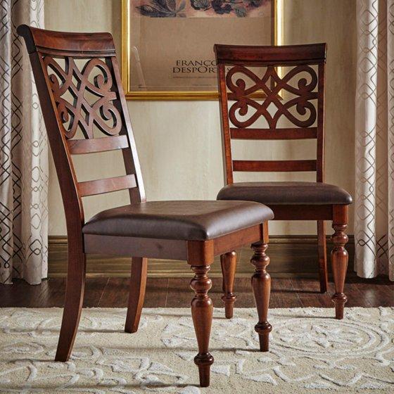 Homelegance virginia dining chairs set of walmart