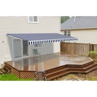 ALEKO 13'x10' Retractable Patio Awning, Multiple Colors