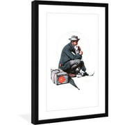 """Marmont Hill """"Pals"""" by Norman Rockwell Framed Art Print"""