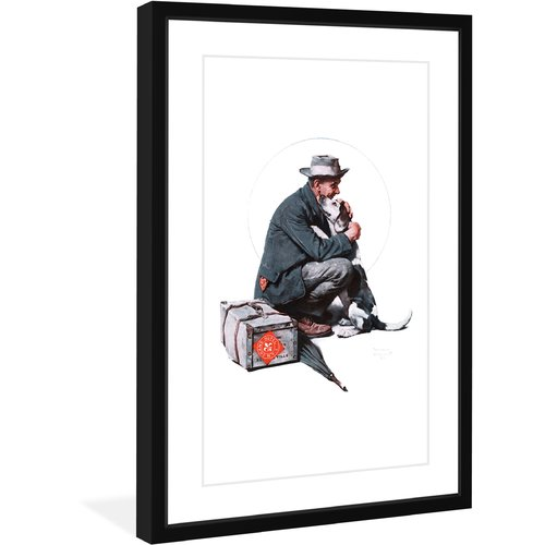 "Marmont Hill ""Pals"" by Norman Rockwell Framed Art Print"