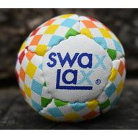 Rainbow Check SWAX LAX Soft Lacrosse Training Balls