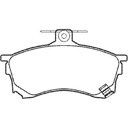 Bosch BP960 Infiniti G35 Nissan 350z Sentra Front Disc
