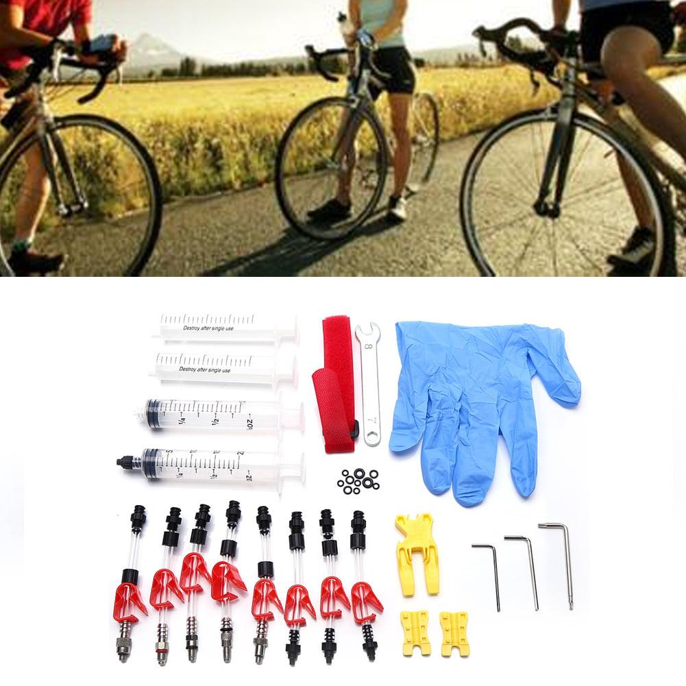 Bicycle Brake Bleed Kit pour EZ Shimano Tektro Magura professionnel disque hydraulique