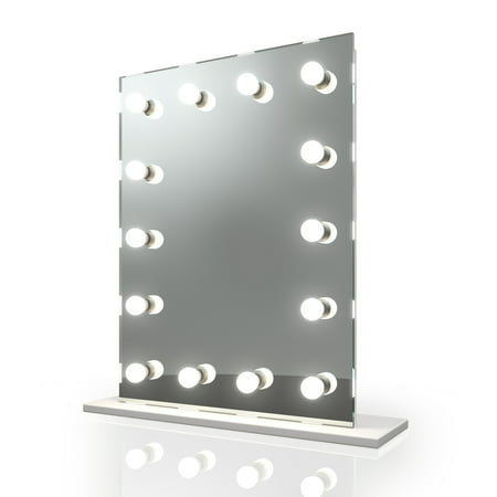 Diamond X Hollywood Makeup Vanity Mirror with Dimmable LED k412sLED ()