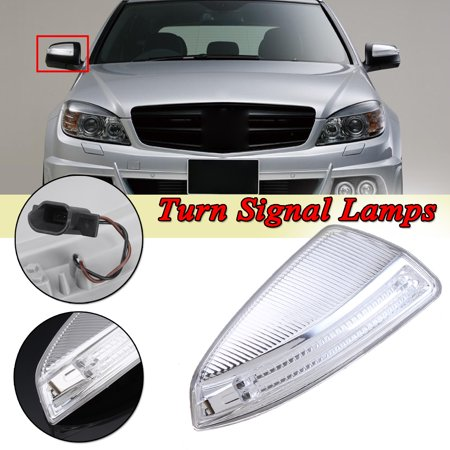 Right Side Door Mirror Turn Signal Light Lamps For Mercedes W204 C-Class C300 C350