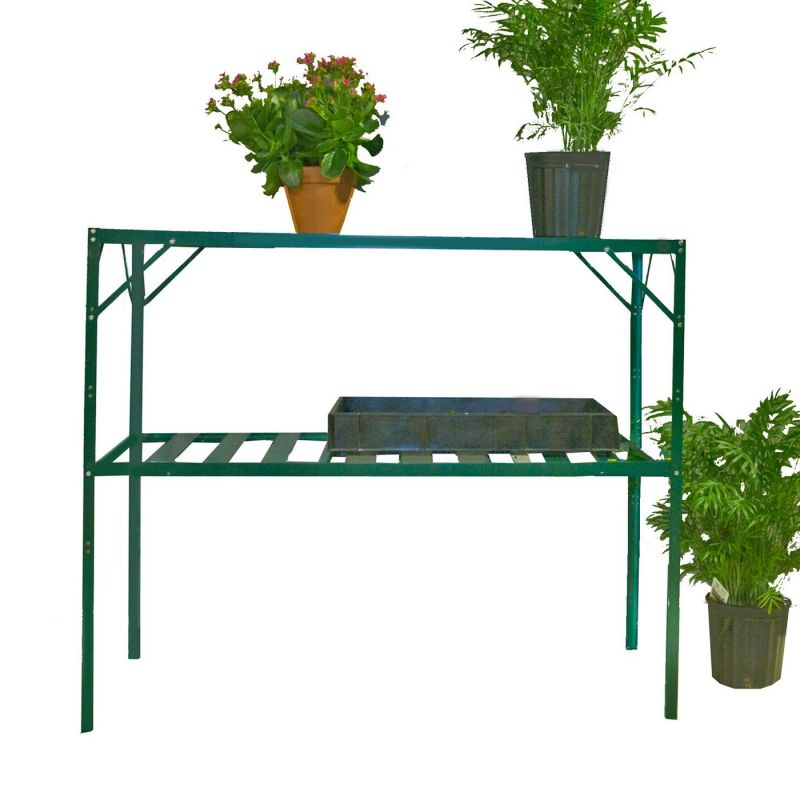 Exaco GH-GS117 Free Standing Two Stage Shelving Unit