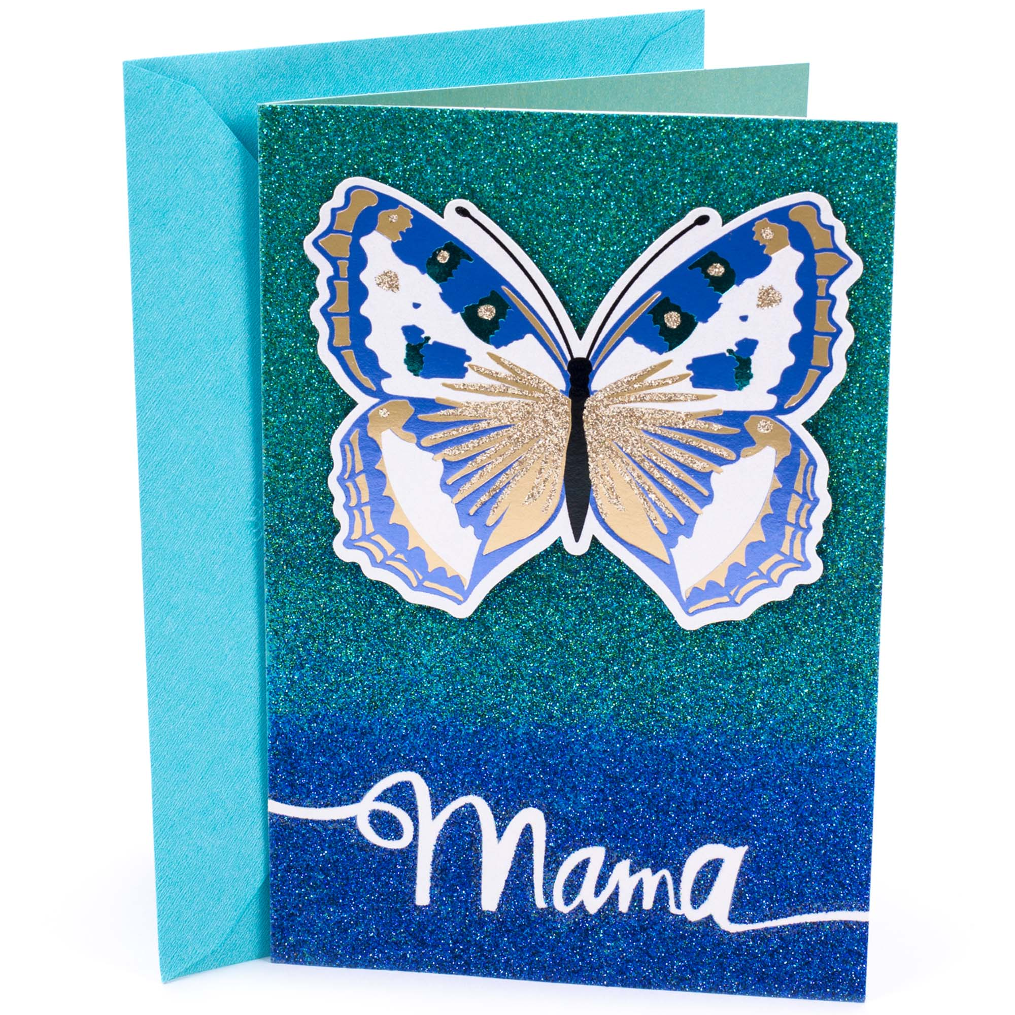 Hallmark Mahogany, Butterfly, Birthday Greeting Card, to Mother ...