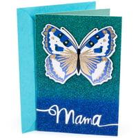 Hallmark Mahogany Birthday Card to Mother (Butterfly)