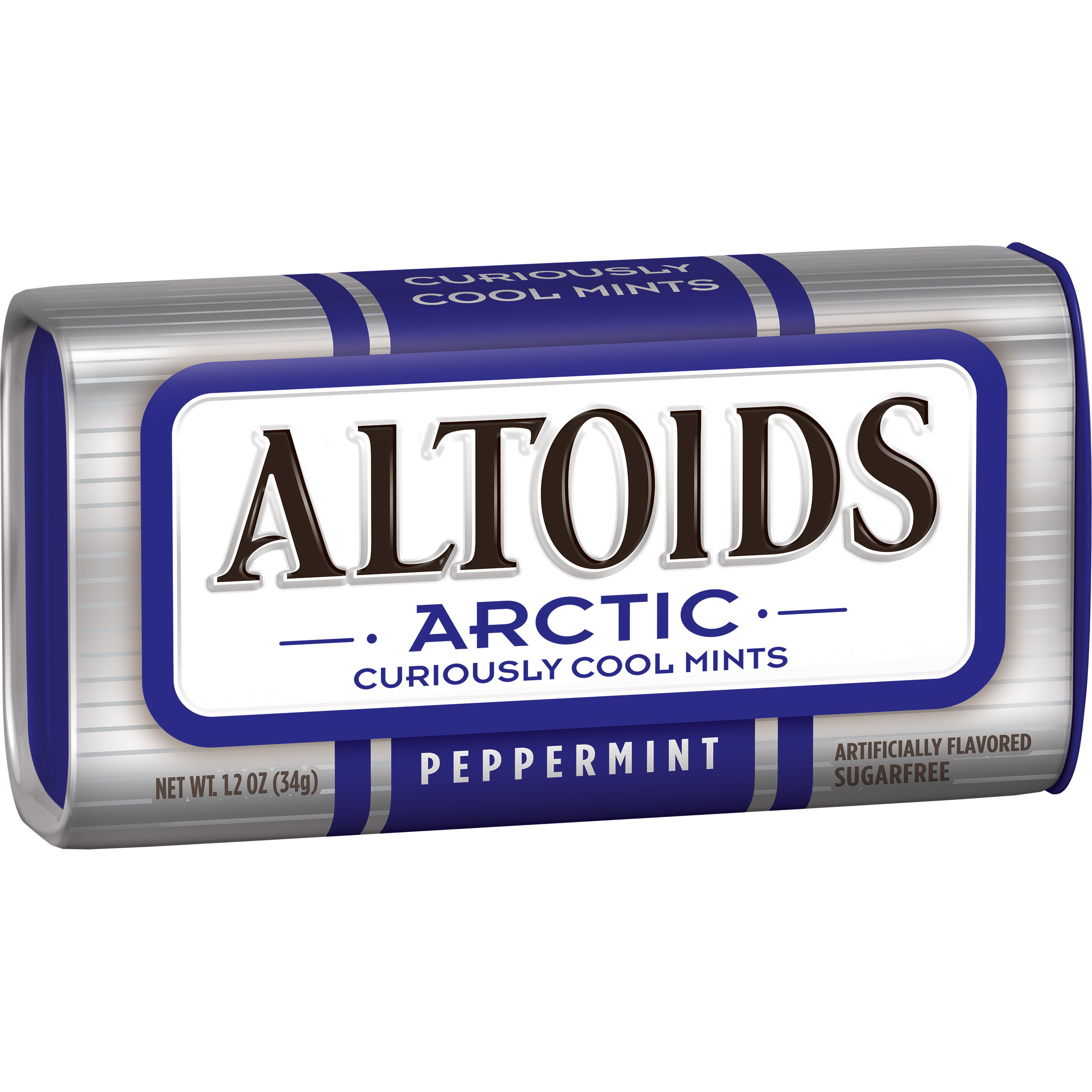 Altoids Arctic Peppermint Sugarfree Mints Single Pack, 1.2 ounce by Wm. Wrigley Jr. Company