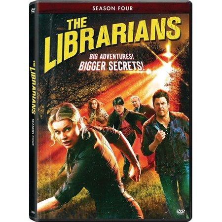 The Librarians: Season Four (DVD) (Dirty Librarian)
