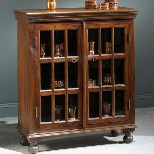 William Sheppee Portsmouth Hutch 2 Door Accent Cabinet by