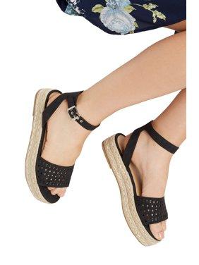 4a8c909a81b45 Product Image Aftin Laser Cut Platform Sandal