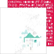 "Christmas Wishes Double-Sided Cardstock 12""X12""-Winter Joy"