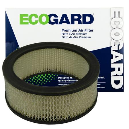 ECOGARD XA57 Premium Engine Air Filter Fits Ford F-150, F-100, E-150 Econoline, F-350, Bronco, F-250, Mercury Cougar, Ford E-150 Econoline Club Wagon, E-100 Econoline, E-250 Econoline, Falcon