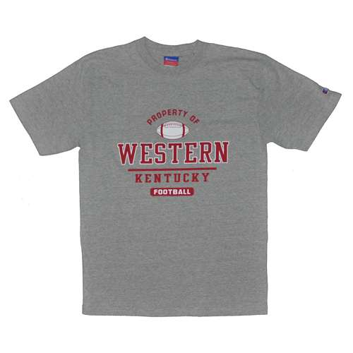Western Kentucky T-shirt Football, Oxford by Champion